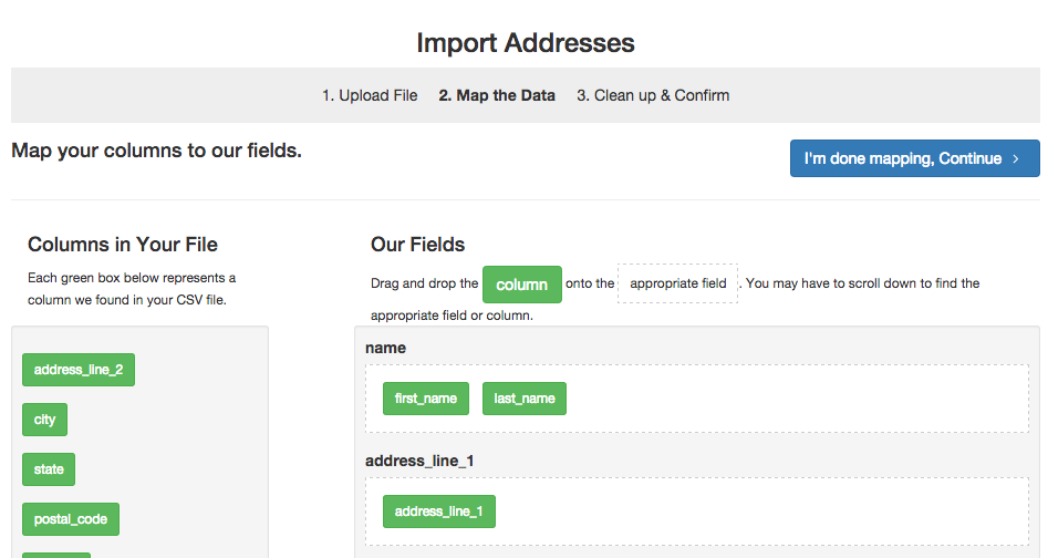 Huge Improvements to Importing Addresses!
