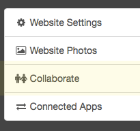 """Sharing"" is now ""Collaborate"""