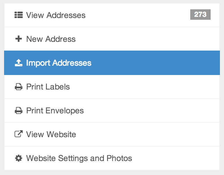 INYA Update: Importing Addresses Is Now Much Easier!